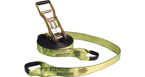 Elephant Slacklines Addict Flash'line-Set neon